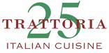 Trattoria 25 Italian Restaurant   Beverly HIlls Italian   Trattoria 25